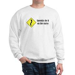 Spondys on the Curve Sweatshirt
