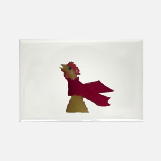 Just a chicken Rectangle Magnet (10 pack)