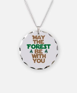 May The Forest Be With You Necklace