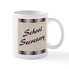 Beige Background School Sec. Mug