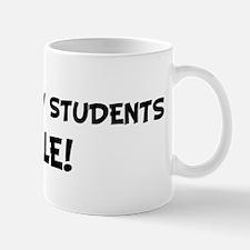 PSYCHOLOGY STUDENTS Rule! Mug