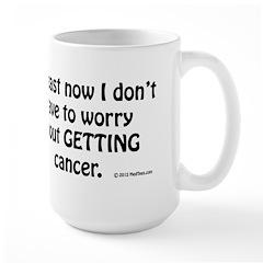 No Worries Large Mug
