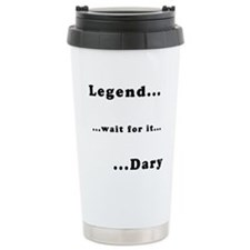 "Barney's ""Legendary"" Travel Mug"