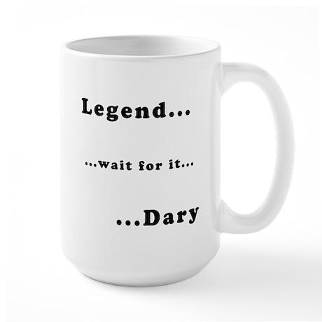 """Barney's """"Legendary"""" Large Mug"""
