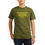 No Worries Organic Men's T-Shirt (dark)