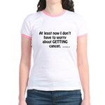 No Worries Jr. Ringer T-Shirt