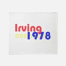 Cute Irving Throw Blanket