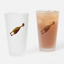 Just a chicken Drinking Glass