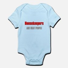Housekeepers are Neat People Infant Bodysuit