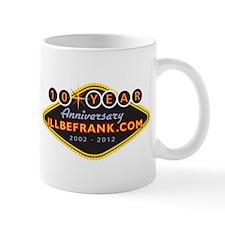illbefrank.com 10 Year Anniversary Mug