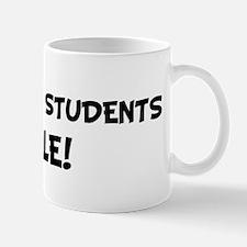 CHEMISTRY STUDENTS Rule! Mug