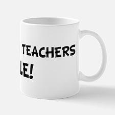 STATISTICS TEACHERS Rule! Mug