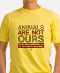 Funny Animal rights T