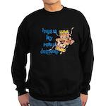 My Purim Costume Sweatshirt (dark)