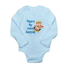 My Purim Costume Long Sleeve Infant Bodysuit
