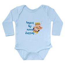 My Purim Costume Long Sleeve Infant Bodysuit