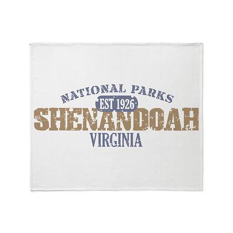Shenandoah National Park VA Throw Blanket