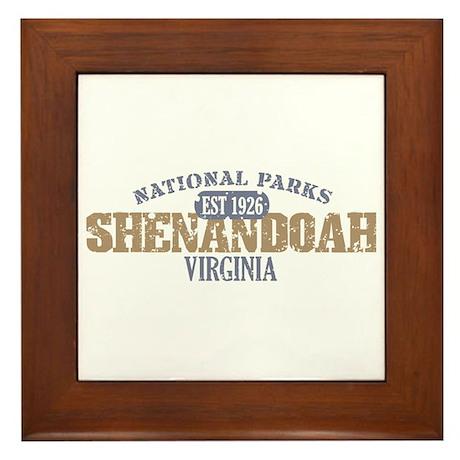 Shenandoah National Park VA Framed Tile