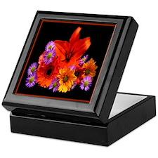 Floral Bouquet Keepsake Box