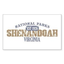 Shenandoah National Park VA Decal