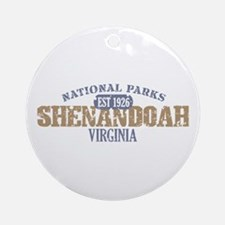 Shenandoah National Park VA Ornament (Round)