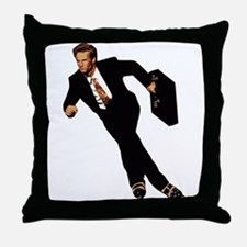 Late For Business Meme Throw Pillow