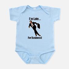Late For Business Meme Infant Bodysuit