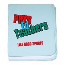 Phys Ed Teachers baby blanket