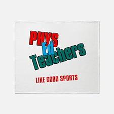 Phys Ed Teachers Throw Blanket
