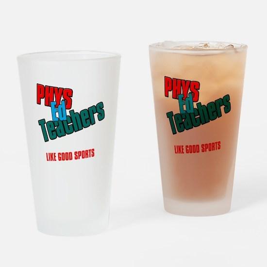 Phys Ed Teachers Drinking Glass