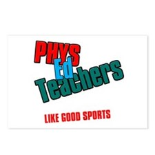 Phys Ed Teachers Postcards (Package of 8)
