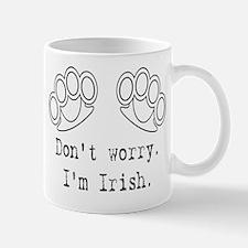 Don't Worry I'm Irish - Brass Mug