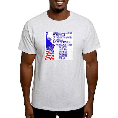 Pledge Ash Grey T-Shirt