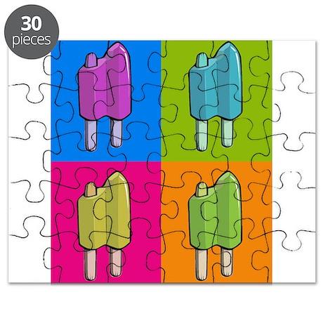 Popsicle Ice Cream Pop Art Puzzle