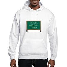 World's Coolest Teacher Hoodie Sweatshirt
