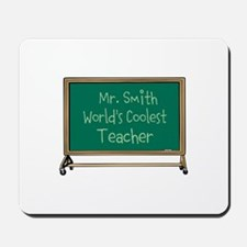 World's Coolest Teacher Mousepad