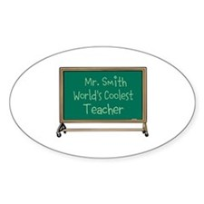World's Coolest Teacher Decal