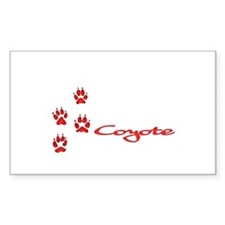 Coyote Decal