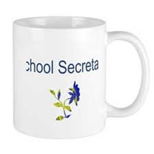 School Secretary Flower Mug