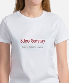 School Secretary School Universe Women's T-Shirt