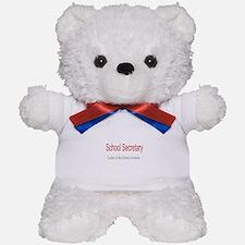 School Secretary School Universe Teddy Bear