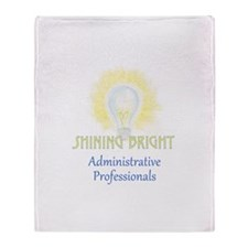 Administrative Professionals Throw Blanket
