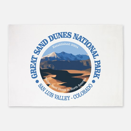 Great Sand Dunes NP 5'x7'Area Rug