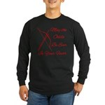 May The Odds Be Ever Long Sleeve Dark T-Shirt