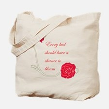 Chance to Bloom Tote Bag