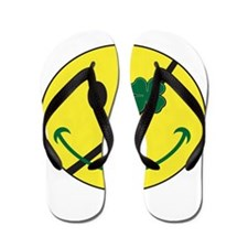 Irish Patch Flip Flops