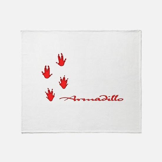 armadillo Throw Blanket