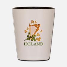 Ireland - Irish Golden Harp Shot Glass