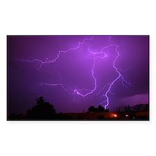 Lightning Strike Rectangle Decal