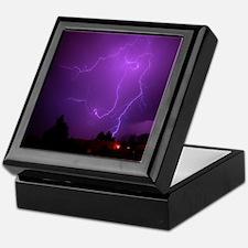 Lightning Strike Keepsake Box